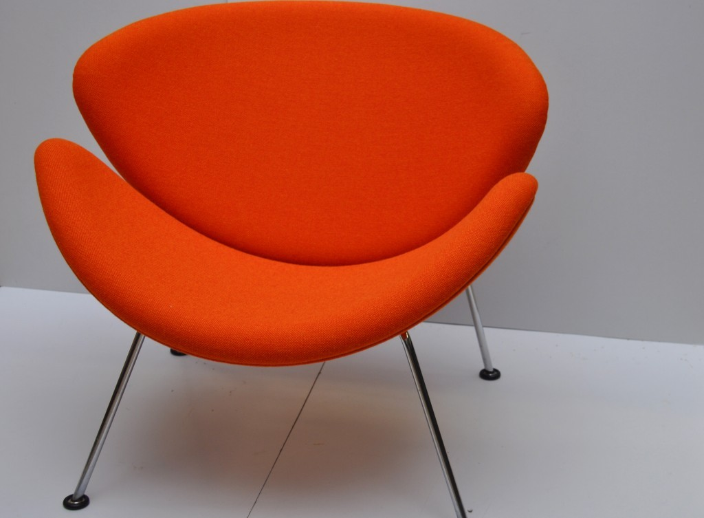 Artifort Orange Slice 537, Pierre Paulin,  stof: Kvadrat Hallingdal